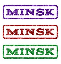 Minsk watermark stamp vector