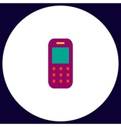 Mobile phone computer symbol vector