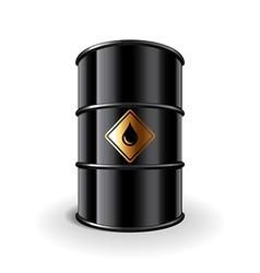 oil barrel isolated vector image