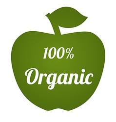 OrganicApple vector image