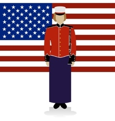 US Military Band Musician-2 vector