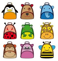 backpacks for school children vector image