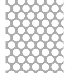white dots on a gray background vector image vector image