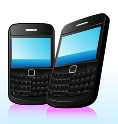 qwerty phone vector image vector image