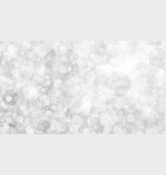 white abstract background of small hexagons vector image