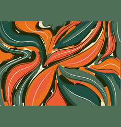 abstract background hand drawn pattern brush vector image