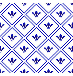 Ceramic pattern background vector
