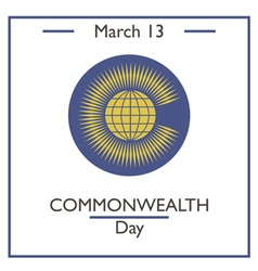 Commonwealtth day vector