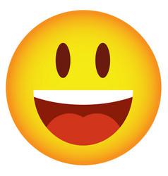 Cool smilies emoji vector