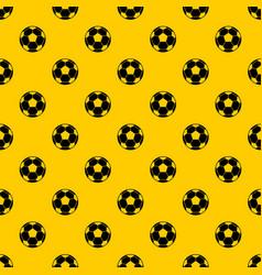 Football soccer ball pattern vector