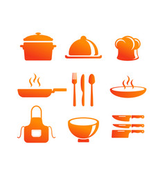 kitchen equipment icon vector image