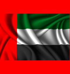 National flag silk vector