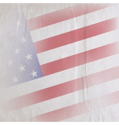 old vintage paper texture with united states vector image