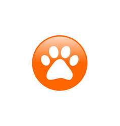 Pet shop icon veterinary care vector