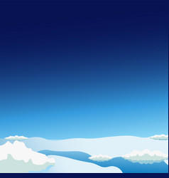 stratosphere flat modern design space vector image