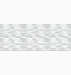 wall texture wave pattern white paper background vector image