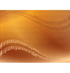 abstract bright music background vector image