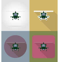 transport flat icons 74 vector image vector image