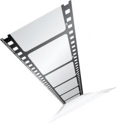 film from the top vector image