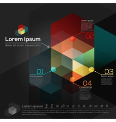 Geometric Abstract Design Layout vector