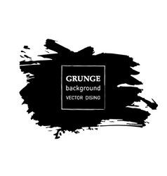 Grunge banner abstract template vector