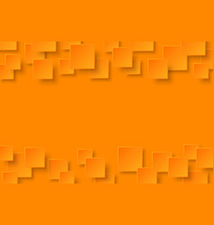 Orange modern abstract background vector