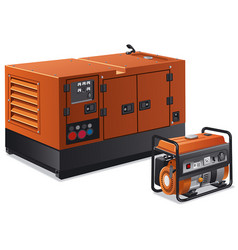 Power generators vector