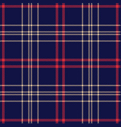 seamless tartan check plaid pattern background vector image