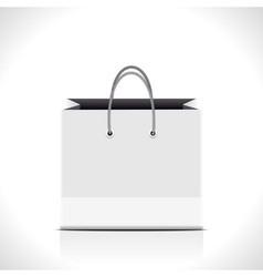 shopping paper bag vector image