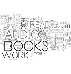 benefit from books each year text word cloud vector image vector image