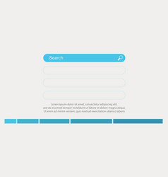 Design data for business infographic vector