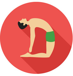 Camel pose i vector