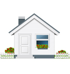 Counrty house vector image