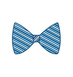 fashion bow tie vector image