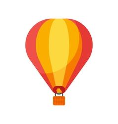Flat style of balloon vector