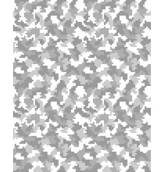 Seamless of digital camouflage vector