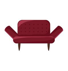 sofa icon image vector image