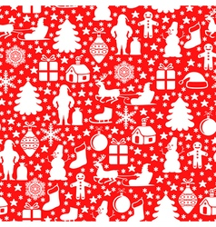 red pattern red vector image vector image