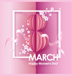 abstract pink background with text vector image