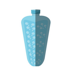 bottle water liquid fresh shadow vector image