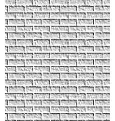 Grey brick wall pattern vector