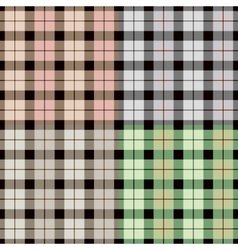 Isolated abstract colorful checkered background vector