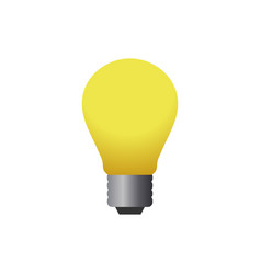 lamp logo icon design template vector image