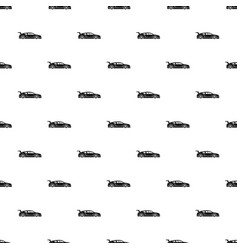 Rally racing car pattern vector