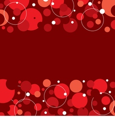 Red Graphic Background With Space vector image