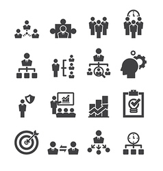 manage icon vector image