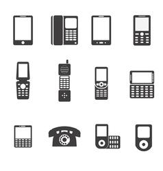 phones vector image vector image