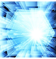 Abstract techno background Eps 10 vector image vector image