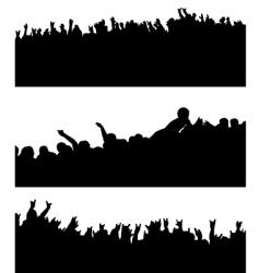 crowd variation vector image