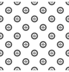 Black Friday sticker pattern simple style vector